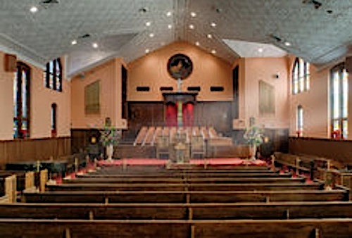 Ebenezer Baptist Church in Atlanta,Georgia