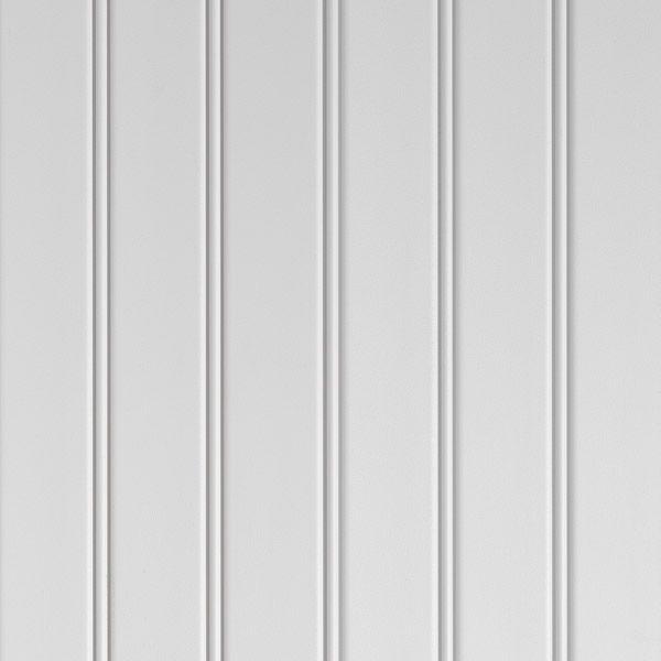 Beadboard-look paneling in vinyl