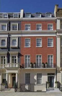 "Regency townhouse in London""s Eaton Square"