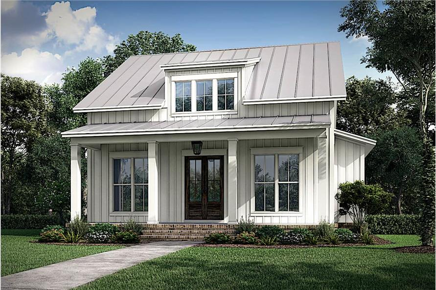 Charming small Cottage style home with shed dormer and covered front porch
