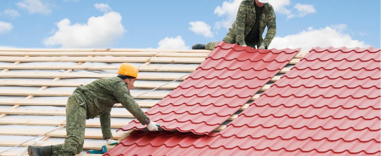 Metal roofing that looks like Spanish tile